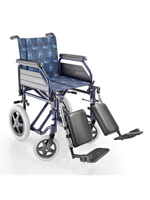 Sedia a rotelle pieghevole da transito surace modello 200 for Sedia a rotelle doppia crociera